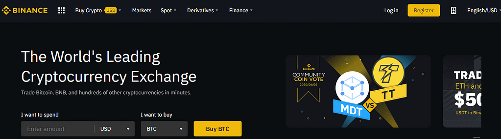 binance registration