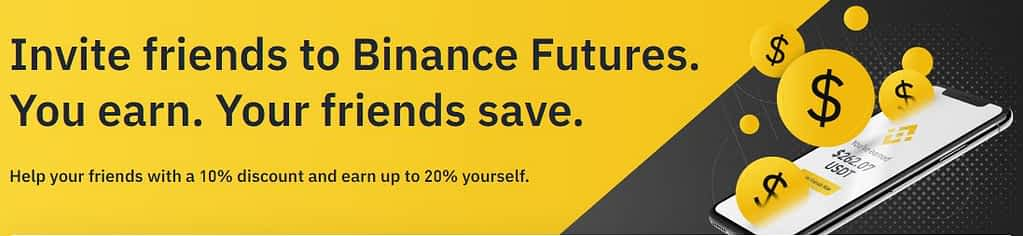 Binance Futures Referral program